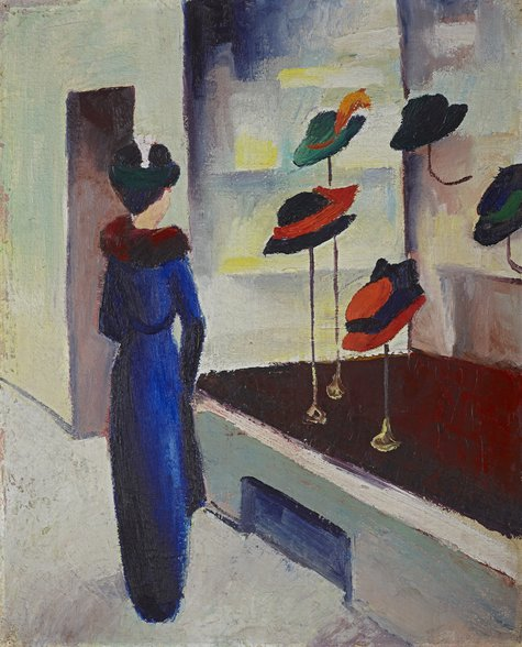 August Macke, Hutladen, 1913
