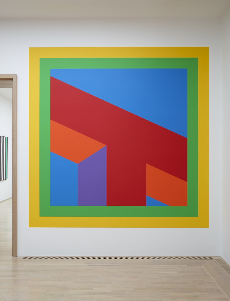Sol LeWitt, Wall Drawing #1075, 2003