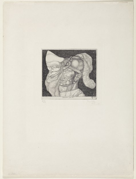 Paul Klee, Komiker (Invention 4), 1904, 14 (A)