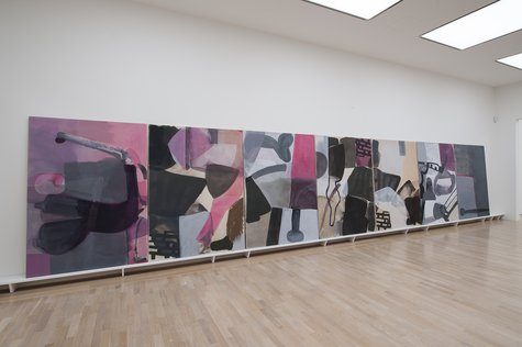 Amy Sillman, Panorama, Section III of IV, 2015/2016