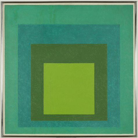Josef Albers, Study for Homage to the Square: High Pasture, 1960