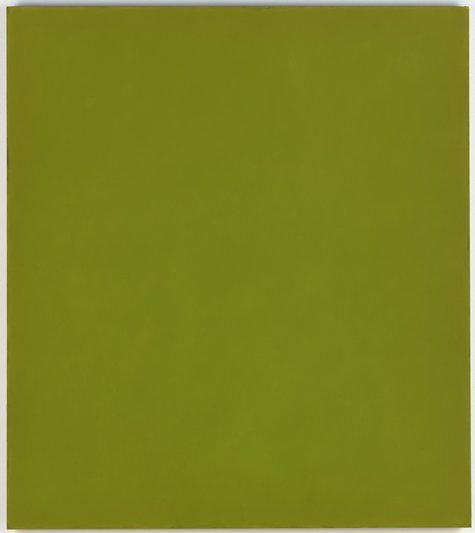 Phil Sims, Green Painting (Pietà Cycle), 2005
