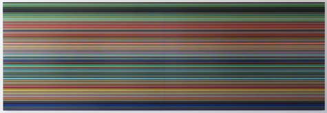 Gerhard Richter, STRIP (WV924-2), 2012