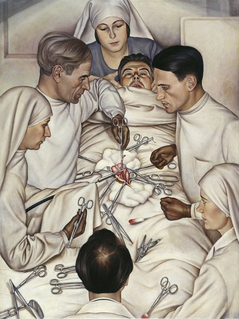 Christian Schad, Operation, 1929