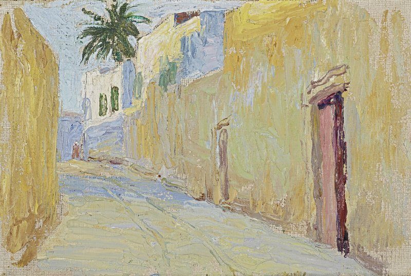 Gabriele Münter, Gasse in Tunis, 1905