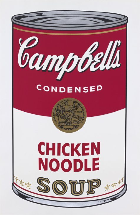 Andy Warhol, Campbell's Chicken Noodle Soup, 1968