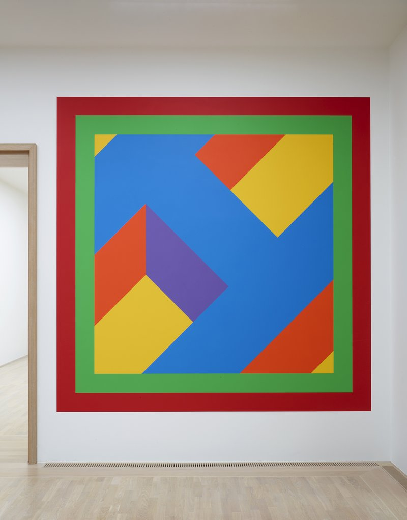 Sol LeWitt, Wall Drawing #1074, 2003