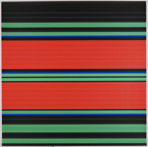 Günter Fruhtrunk, Parameter, 1972