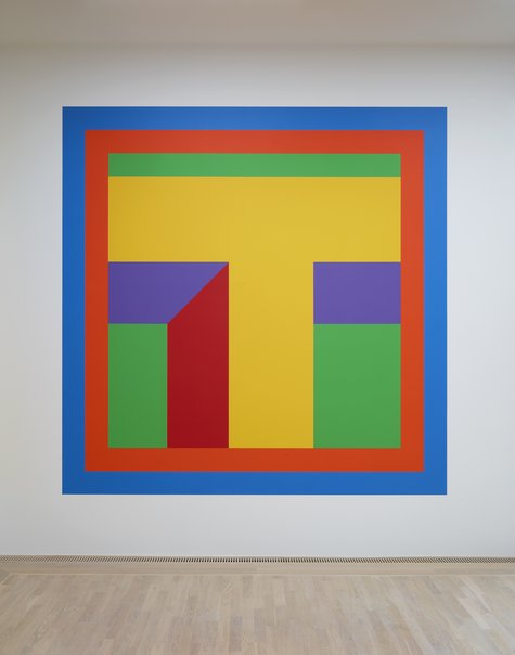 Sol LeWitt, Wall Drawing #1077, 2003