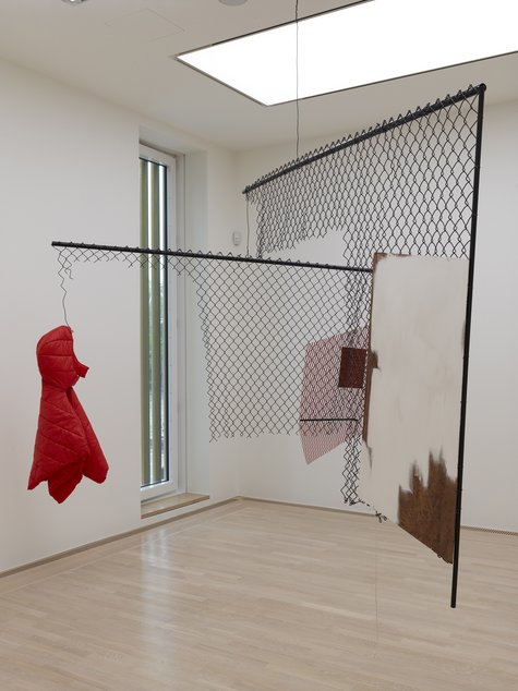 Martin Boyce, In Between Breaths and the Sodium Spill, 2004