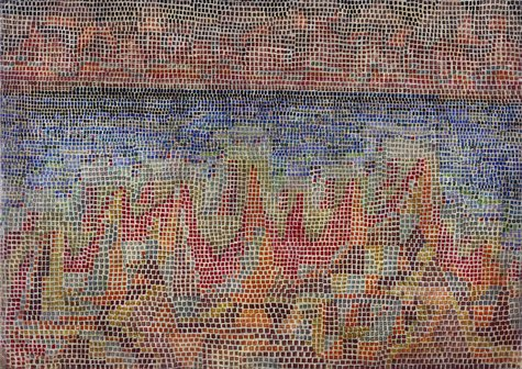 Paul Klee, Klippen am Meer, 1931, 154 (R 14)