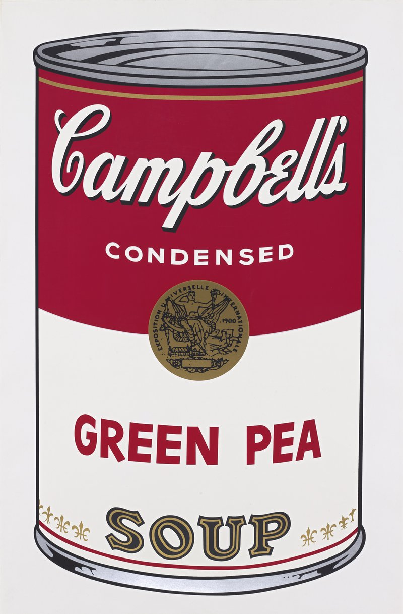 Andy Warhol, Campbell's Green Pea Soup, 1968