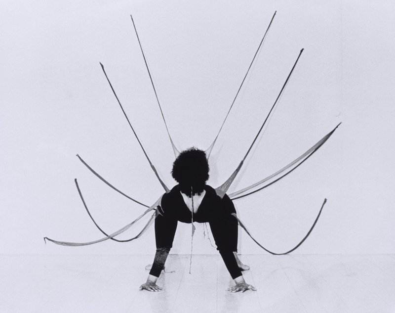 Senga Nengudi, Performance Piece, 1977