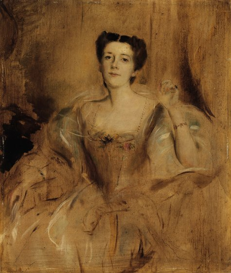 Franz von Lenbach, Mary Lady Curzon of Kedleston, 1901/02