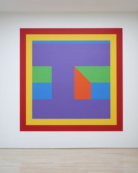 Sol LeWitt, Wall Drawing #1076, 2003