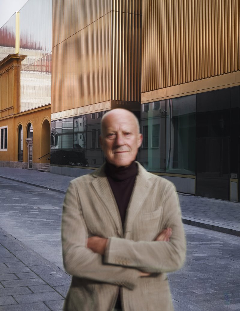 Michael Wesely, Sir Norman Foster (13.02 - 13.07 Uhr), 10.11.2012 Architekt, 2012